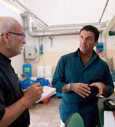 Glenn Marcus and Giuseppe Aquila