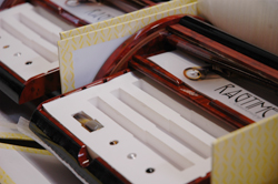 Packaging of Visconti pens