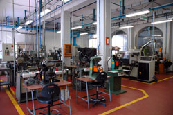 View of part of the manufacturing equipment.